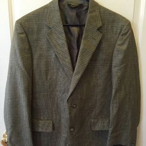 Jos A Banks Executive Collection Tan Suit Coat 40R